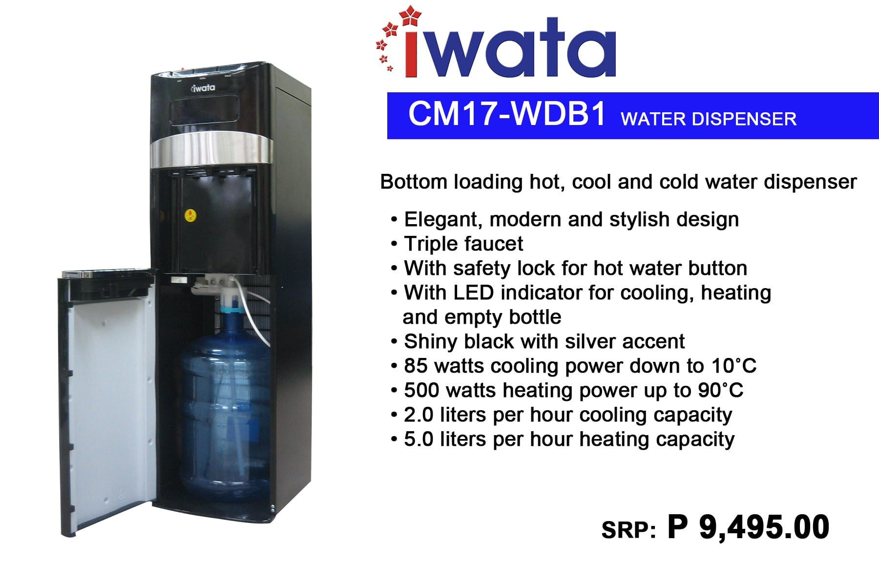 Colent Marketing Philippines Inc. Product categories Water